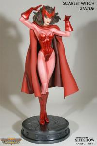 Gallery Image of Scarlet Witch Polystone Statue