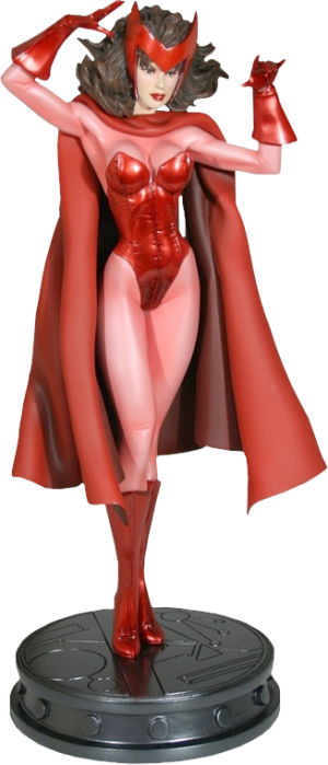 Scarlet Witch Polystone Statue