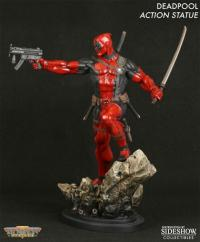 Gallery Image of Deadpool Action Polystone Statue
