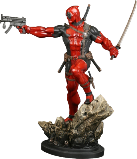 Bowen Designs Deadpool Action Polystone Statue