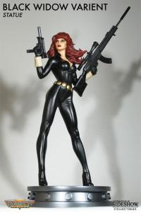 Gallery Image of Black Widow Variant Polystone Statue