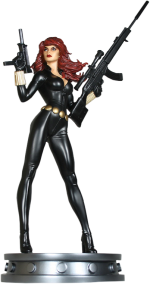 Black Widow Variant Polystone Statue
