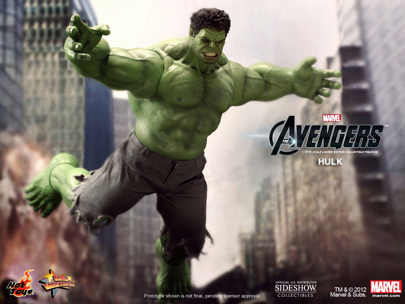 Marvel Hulk Sixth Scale Figure By Hot Toys