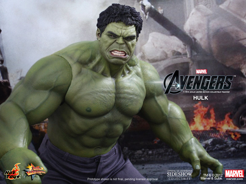 Marvel Hulk Sixth Scale Figure By Hot Toys Sideshow
