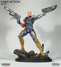 Gallery Image of Cable Action Polystone Statue