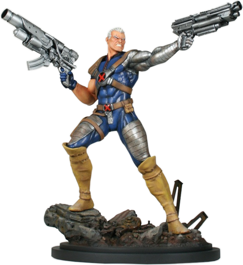 Bowen Designs Cable Action Polystone Statue