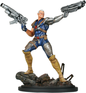 Cable Action Polystone Statue