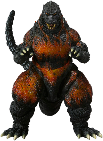 Bandai Burning Godzilla Collectible Figure