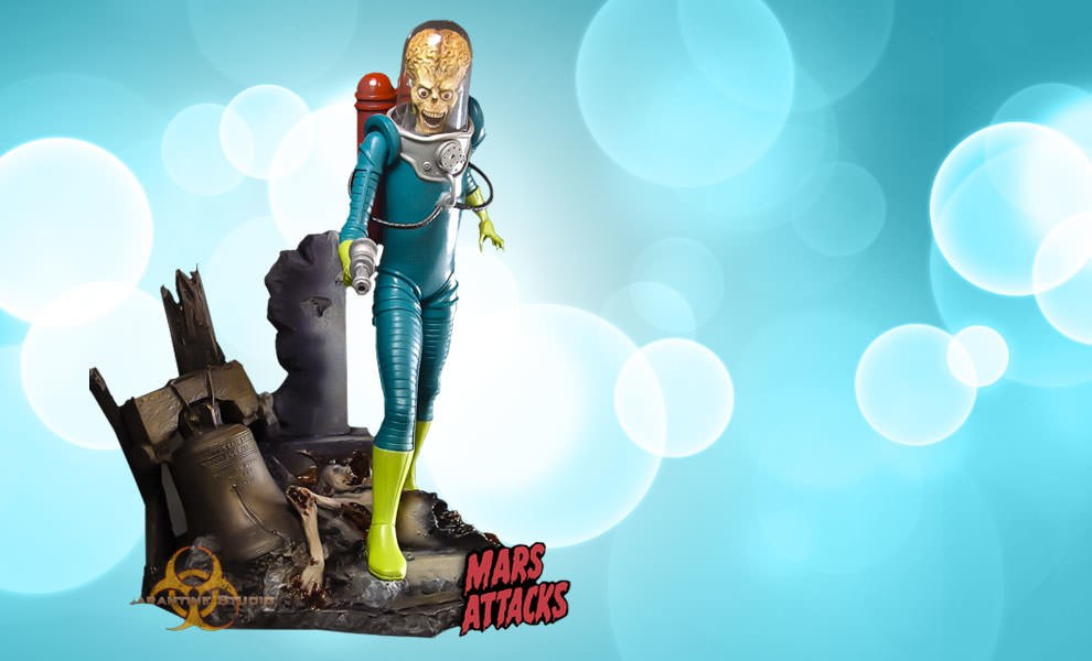 Gallery Feature Image of Mars Attacks Statue - Click to open image gallery