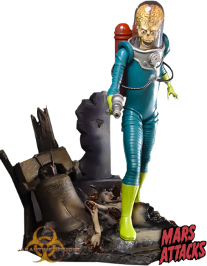 Mars Attacks Statue