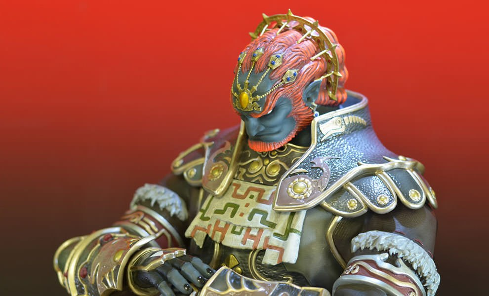 Gallery Feature Image of Ganondorf Polystone Statue - Click to open image gallery