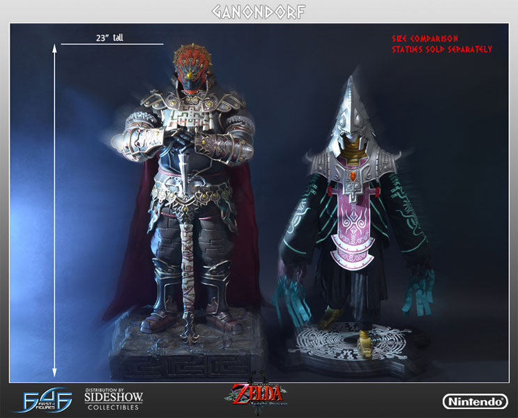 Nintendo Ganondorf Polystone Statue By First 4 Figures Sideshow