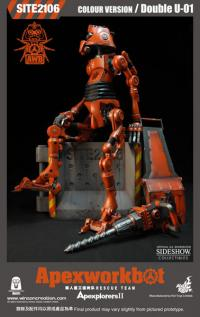 Gallery Image of Apexworkbot - Double U -01 (Color Version) Sixth Scale Figure