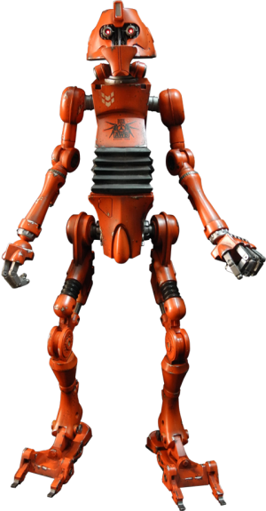 Apexworkbot - Double U -01 (Color Version) Sixth Scale Figure