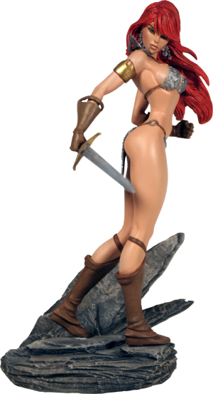 Red Sonja Statue