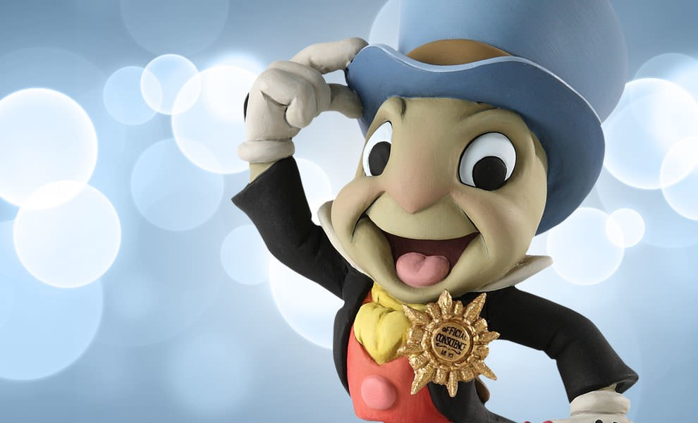 Gallery Feature Image of Jiminy Cricket Polystone Bust - Click to open image gallery