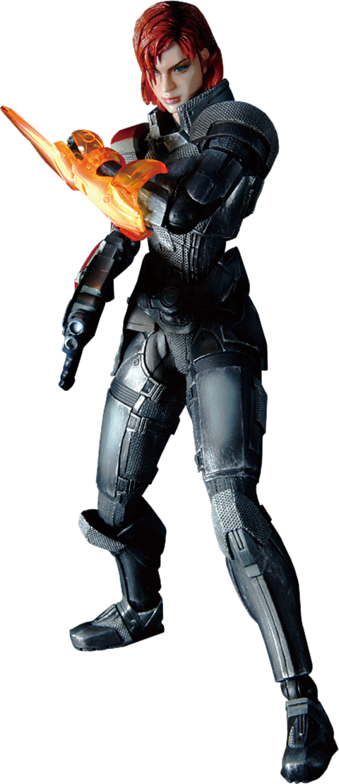 Square Enix Female Commander Shepard Collectible Figure