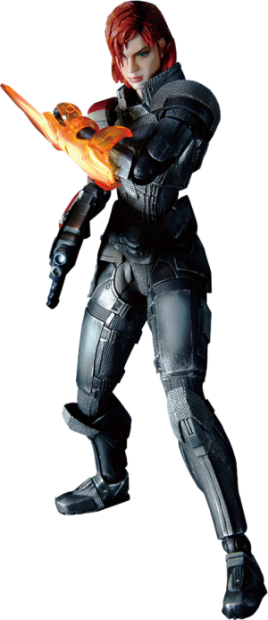 Female Commander Shepard Collectible Figure