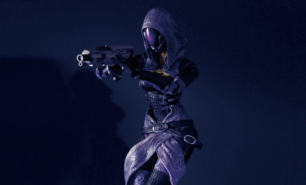 Gallery Feature Image of Tali' Zorah Vas Normandy Collectible Figure - Click to open image gallery
