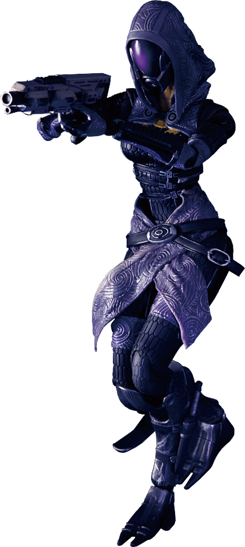 Square Enix Tali' Zorah Vas Normandy Collectible Figure