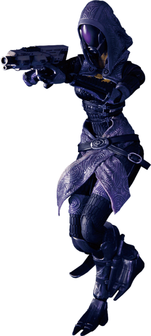 Tali' Zorah Vas Normandy Collectible Figure