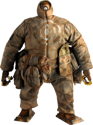 "Thruxton Industrial Army Hire ""Dirty Swine Mode"" AnkouEX Sixth Scale Figure"