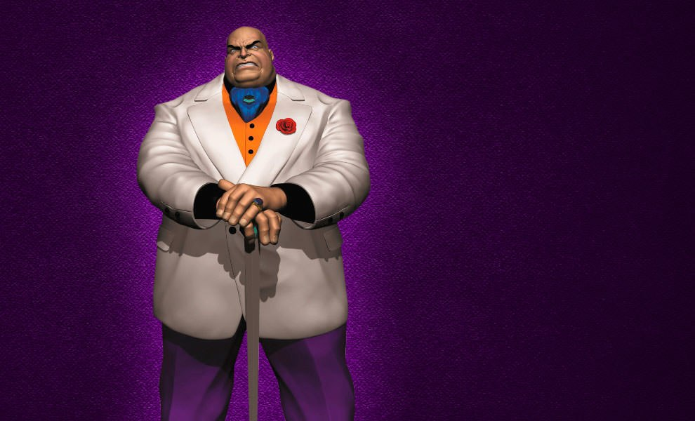 Gallery Feature Image of Kingpin Polystone Statue - Click to open image gallery