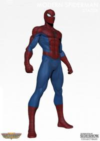 Gallery Image of Modern Spider-Man Museum Polystone Statue