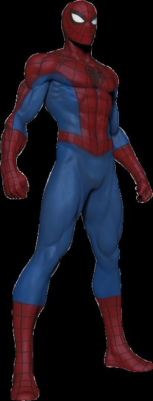 Modern Spider-Man Museum Polystone Statue