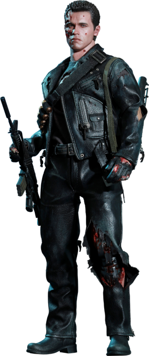 T-800 (Battle Damaged) Sixth Scale Figure