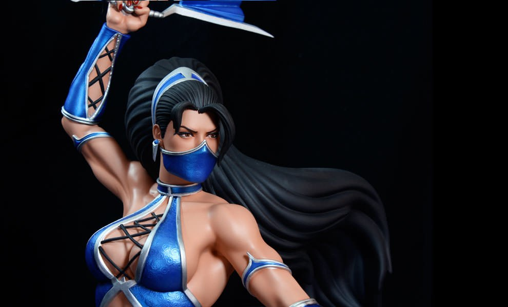 Gallery Feature Image of Kitana Quarter Scale Statue - Click to open image gallery