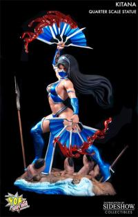 Gallery Image of Kitana Quarter Scale Statue