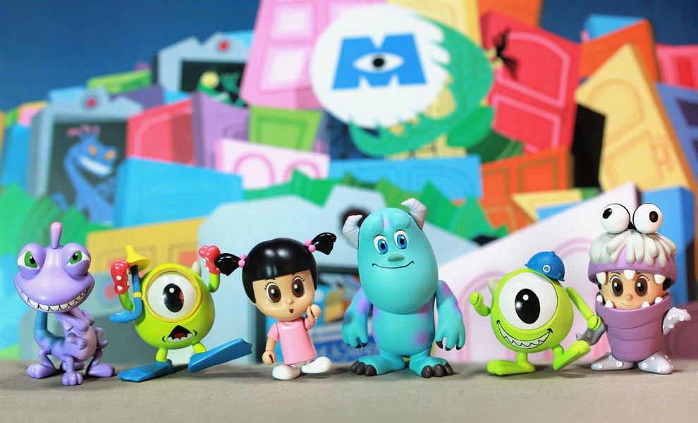 Gallery Feature Image of Monsters, Inc. Cosbaby Series - Complete Set Vinyl Collectible - Click to open image gallery