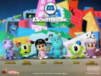 Gallery Image of Monsters, Inc. Cosbaby Series - Complete Set Vinyl Collectible