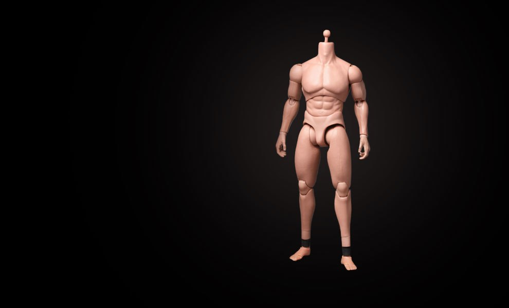 Gallery Feature Image of TrueType - Advanced Muscular Body Sixth Scale Figure - Click to open image gallery