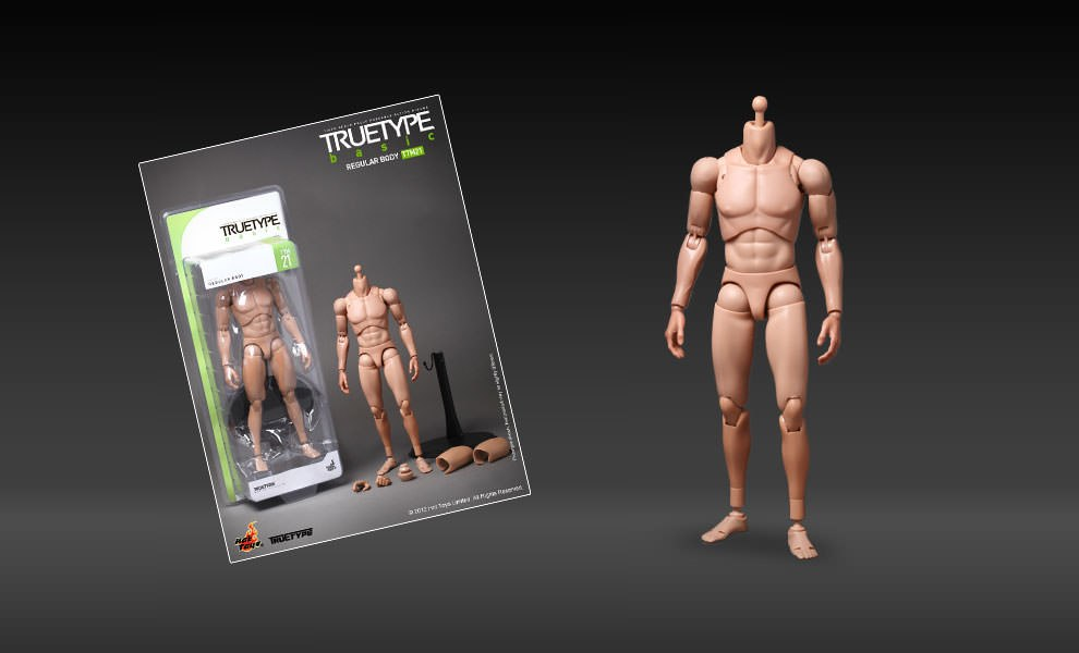 Gallery Feature Image of TrueType - Regular Body Sixth Scale Figure - Click to open image gallery