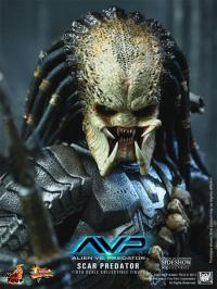 Gallery Image of Scar Predator Sixth Scale Figure
