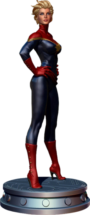 Carol Danvers: Captain Marvel Polystone Statue