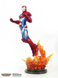 Gallery Image of Iron Patriot Polystone Statue