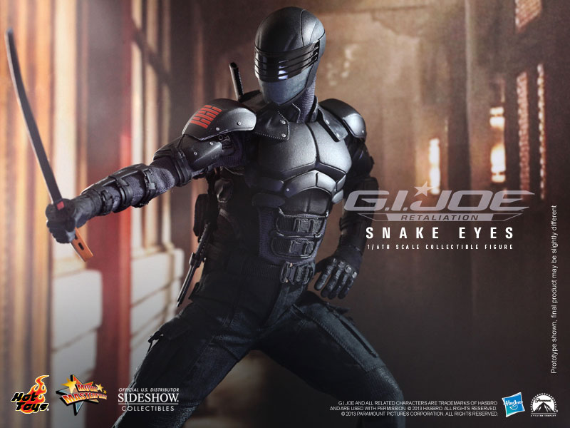 G I  Joe Snake Eyes Sixth Scale Figure by Hot Toys