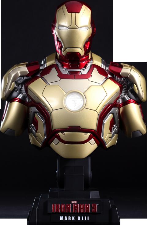 Hot Toys Iron Man Mark XLII Collectible Bust