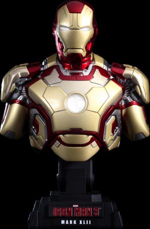 Iron Man Mark XLII Collectible Bust