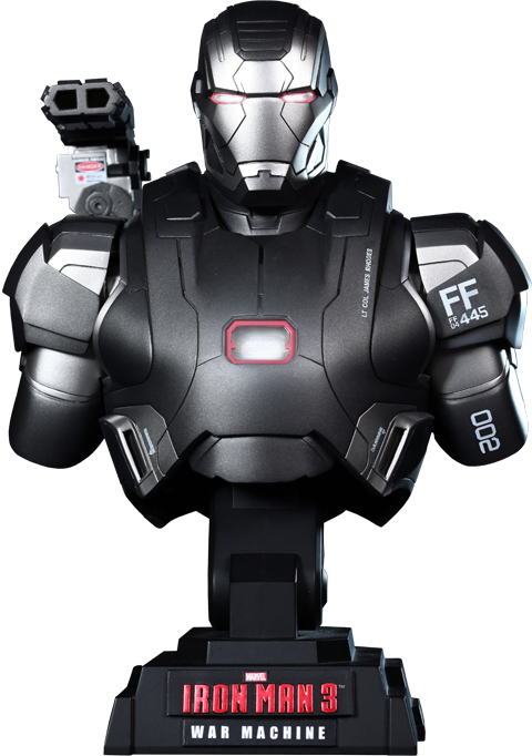 Hot Toys War Machine Collectible Bust