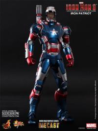 Gallery Image of Iron Patriot Sixth Scale Figure
