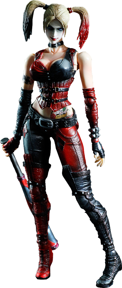 Square Enix Harley Quinn - Arkham City Collectible Figure