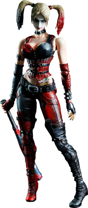 Harley Quinn - Arkham City Collectible Figure