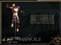 Gallery Image of Iron Man Mark XLII Sixth Scale Figure