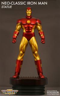 Gallery Image of Neo-Classic Iron Man Polystone Statue