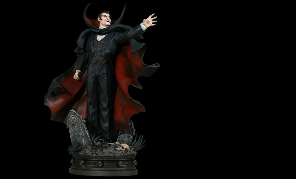 Gallery Feature Image of Dracula Polystone Statue - Click to open image gallery
