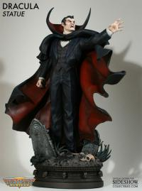 Gallery Image of Dracula Polystone Statue